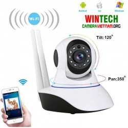 Camera IP WiFi Camera ip wifi WinTech IP QC10 độ phân giải 2.0MP