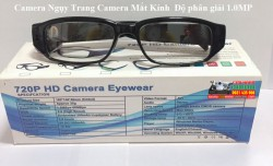Camera IP WiFi Camera Ngụy Trang Camera Mắt Kính  Độ phân giải 1.0 MP