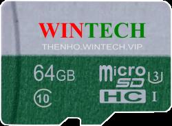 Thẻ Nhớ Thẻ nhớ SD WinTech 16GB Class 10